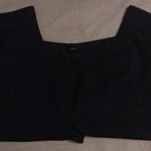 Maurice's Black workwear capris - size 24
